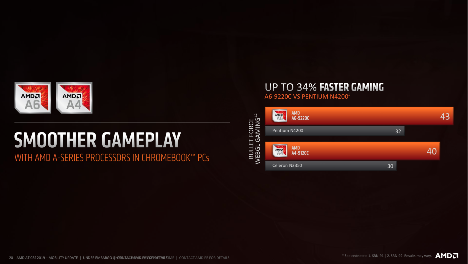AMD announces two new Chromebook CPUs - NotebookCheck net News