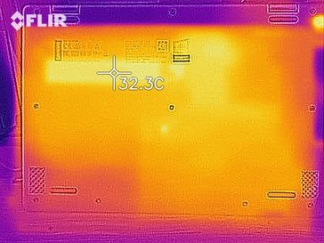 heat development bottom (idle)