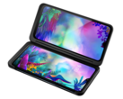 The LG G8X ThinQ comes with its unique dual-screen case for US$779. (Source: LG)