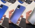 The Vivo smartphone uses electricity to change color. (Image source: Vivo/YouTube - edited)