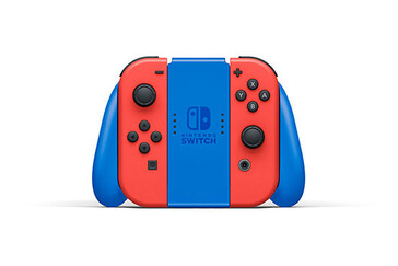 Nintendo Switch Mario Red & Blue Edition grip. (Image source: Nintendo)