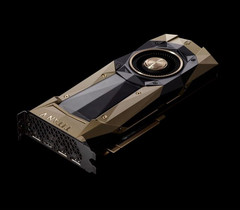 The Titan V GPU is marketed as an entry-level compute card, but it can also be considered an extreme gaming solution. (Source: Nvidia)