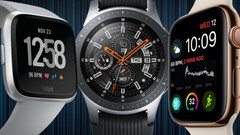 Three non-Wear OS-based brands dominated the US smartwatch market in 2018. (Source: Wareable)