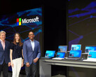 Microsoft's keynote on the latest Windows developments also previewed some of the latest laptop models revealed at Computex. (Source: The Verge)