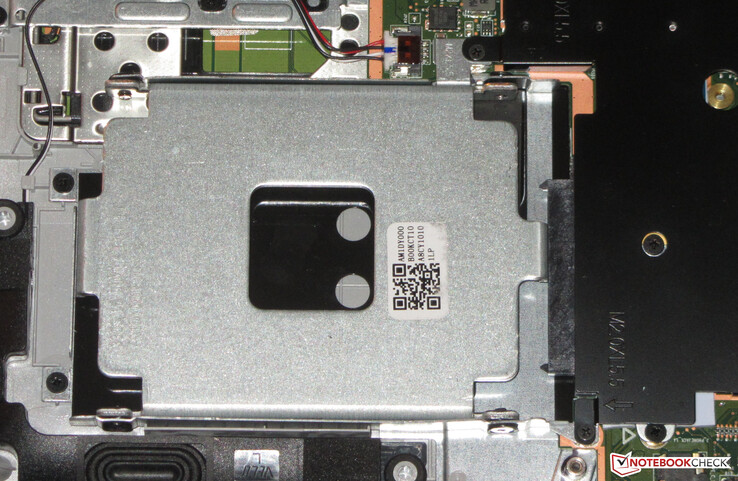 A 2.5-inch drive can be retrofitted if necessary