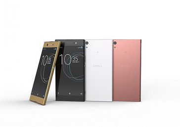 Sony Xperia XA1 Ultra Android phablet color options