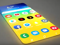 "Concept designers have got ""creative"" with a garish Samsung Galaxy Zero smartphone. (Image source: YouTube/Androidleo)"