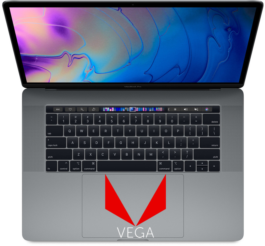 Vega comes to the MacBook Pro: new models with Vega Pro 16 and Vega