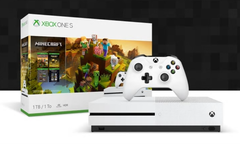 US-based shoppers can save up to US$100 on the Xbox One S 1 TB Minecraft Creators Bundle. (Source: Microsoft)