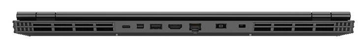 Rear: 1x USB 3.1 Type-C, Mini-DisplayPort, 1x USB 3.1, HDMI, Gigabit LAN, power, Kensington Lock