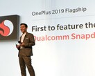OnePlus CEO Pete Lau spoke about the Snapdragon 855 earlier this year. (Source: Qualcomm)