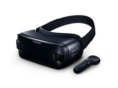It's a bit larger than the current Gear VR, but that's pretty much it. (Source: Samsung)