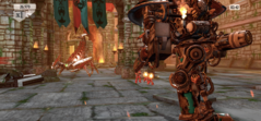 Warhammer 40.000: Freeblade on the iPhone X