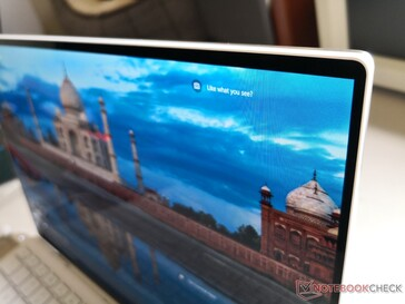 Infrared HD webcam is along the top edge unlike on some earlier XPS 13 designs
