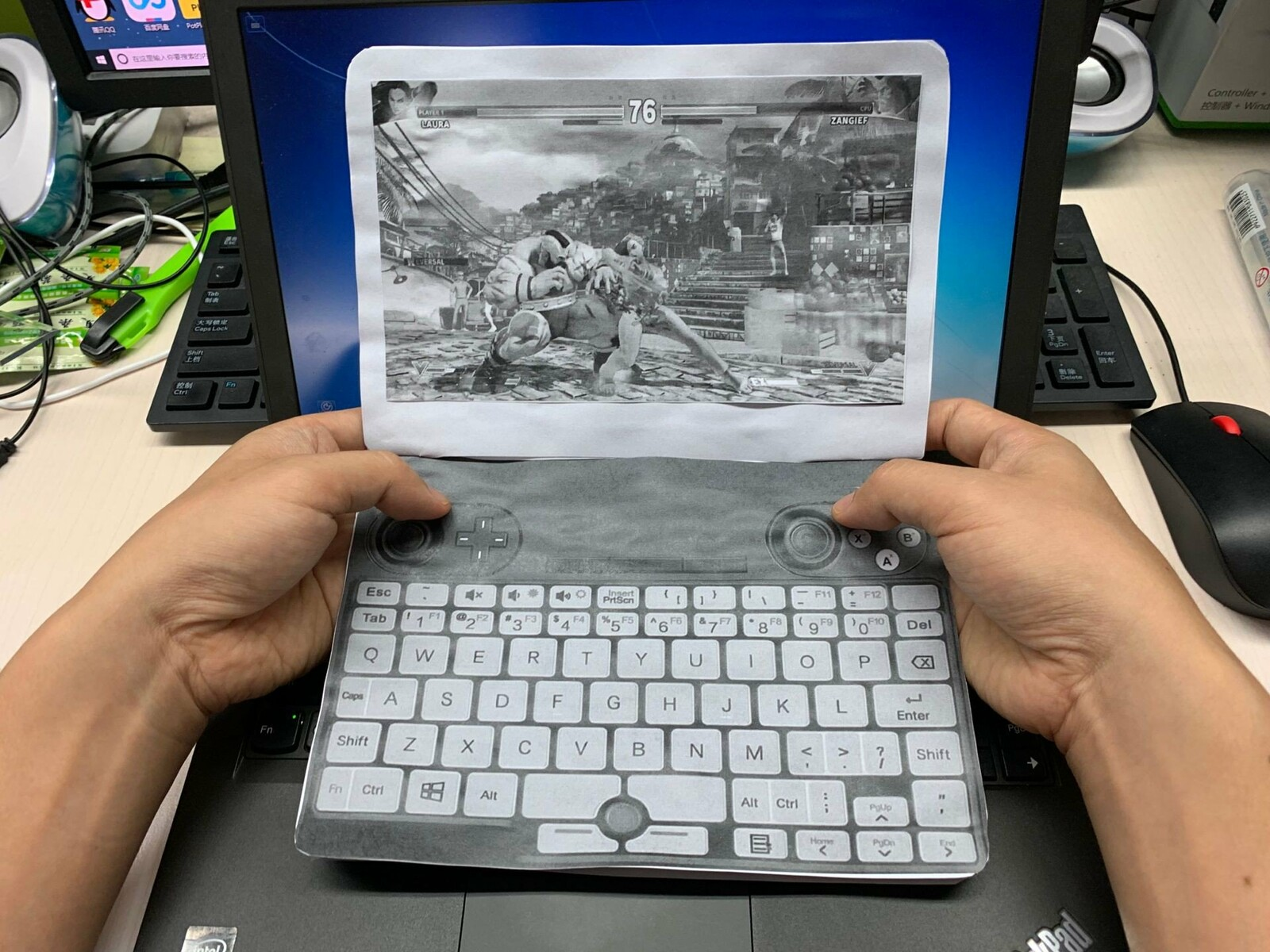 Mock-up of GPD Win Max elicits mixed opinions