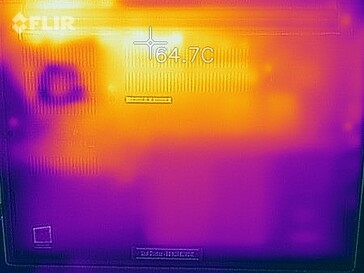 Surface temperatures The Witcher 3 (bottom)