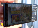 Using the BlackBerry KEY2 LE outside with the ambient light sensor switched on
