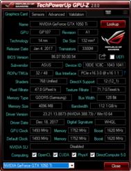 Asus GL703GE (Core i7-8750H, GTX 1050 Ti) Laptop Review