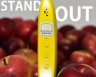 Slightly suggestive and one-hundred-percent inedible: the Banana Phone. (Source: Indiegogo)
