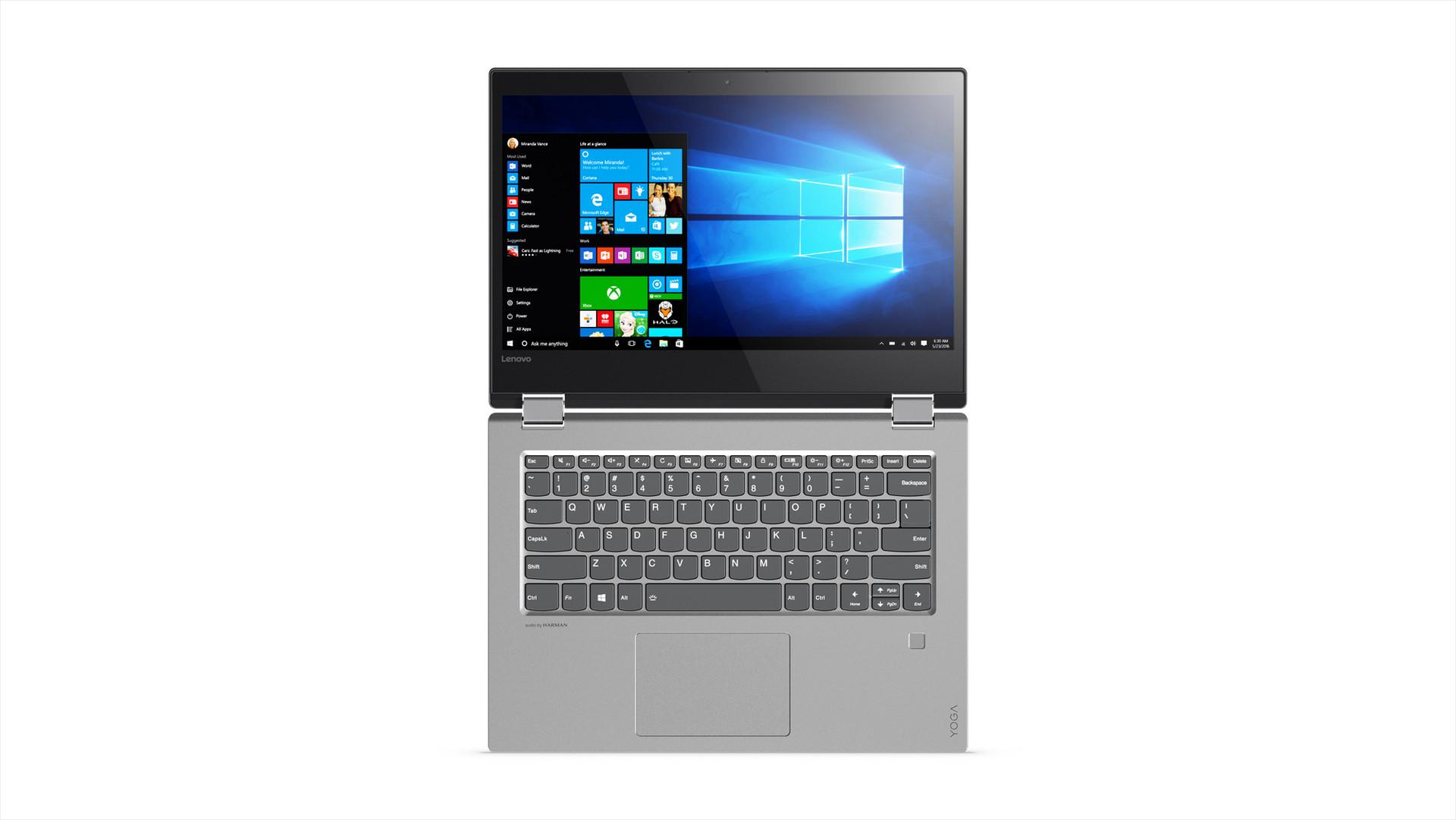 Lenovo Yoga 520 And Yoga 720 Convertible Notebooks Now
