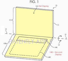 Apple OLED touchscreen keyboard patent (Source: Patently Apple)
