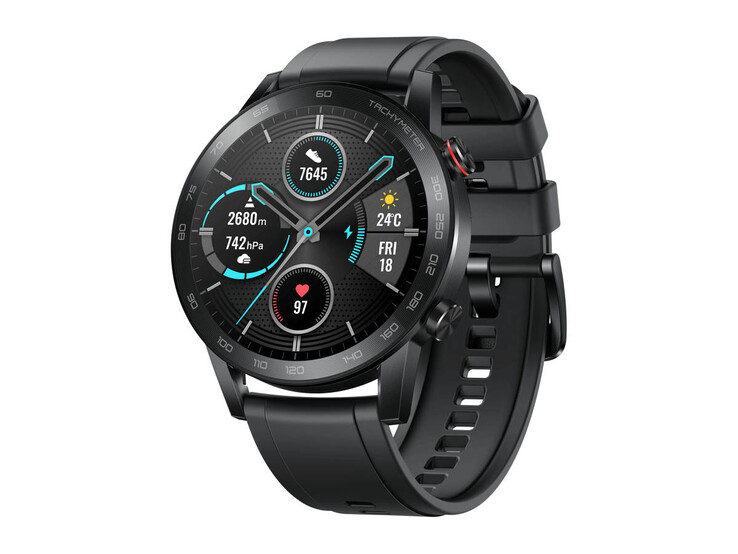 Honor Magic Watch 2 in 46 mm (1.8 inch) with Bluetooth telephony and color accent