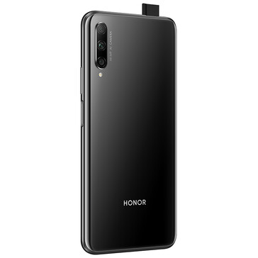 The Honor 9X Pro in Midnight Black. (Image source: Honor)