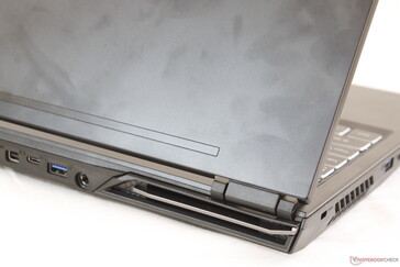 Grease will accumulate quickly on the outer lid and trackpad