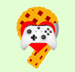 Android 9.0 Pie now natively supports XBox One controllers. (Image: Android, Microsoft / edits: self)