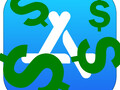 The App Store is a money-making machine. (Image: App Store logo w/ edits)