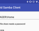 The new Samba client for Andriod doesn't use updated SMB protocols. (Source: Android Police)