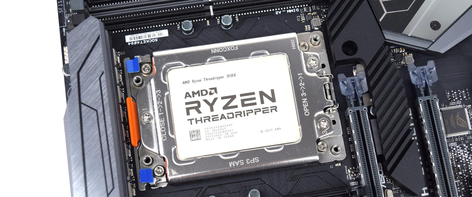 Review AMD Ryzen Threadripper 2920X (12 cores, 24 threads