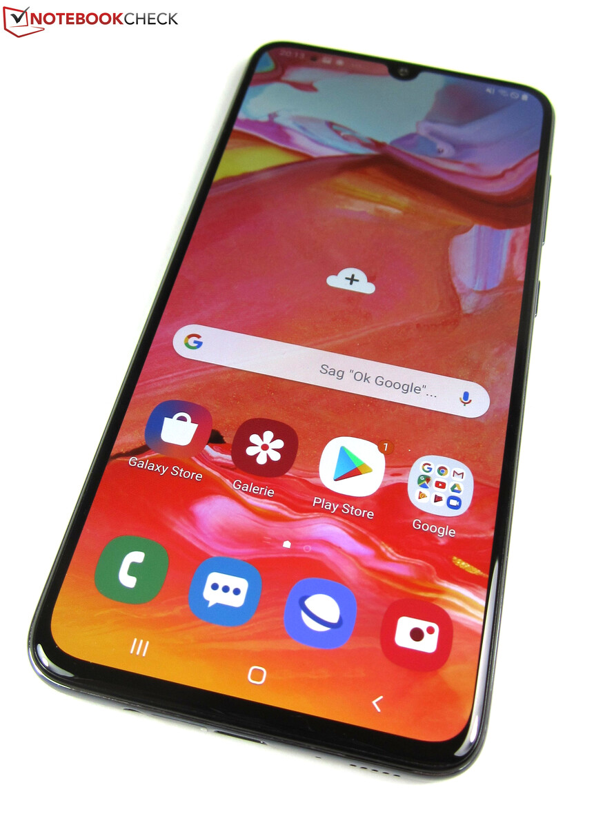 Samsung Galaxy A70 Mid Range Giant In Review