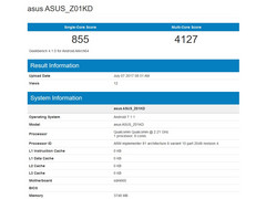 Mid-range Asus ZenFone 4 spotted on Geekbench