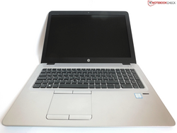 In review: HP EliteBook 850 G4. Review unit courtesy of Notebooksbilliger.de