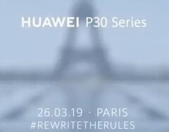 Huawei P30 series launch teaser (Source: Huawei Mobile on Twitter)