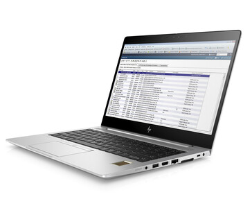 Optional FIPS-201 compliant fingerprint reader shown here to distinguish the system from the standard EliteBook 840 G6