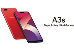 OPPO A3s Android smartphone with Qualcomm Snapdragon 450 and notched display (Source: MySmartPrice News)