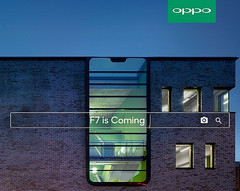 OPPO F7 teaser shows notched display (Source: OPPO)