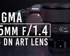 The new Sigma Art-series lens. (Source: B&H Photo Video)