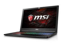 The MSI GS63VR 7RG-005, provided courtesy of: notebooksbilliger.de