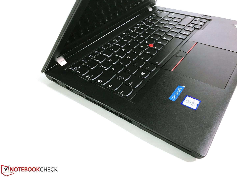 Lenovo ThinkPad T470 (Core i5, Full-HD) Notebook Review