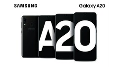 A new Samsung Galaxy A20 variant is on the way. (Source: SlashGear)