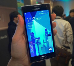 Samsung Z smartphone powered by Tizen OS