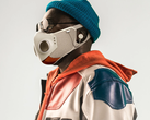 Will.i.am and Honeywell teamed up to create the Xupermask, a futuristic face mask for fashionistas. (Image via The New York Times)
