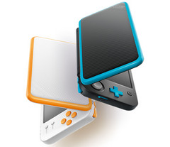 The new Nintendo 2DS XL comes in the same form factor and with the internal hardware as the 3DS XL but at a 25% lower price. (Source: Nintendo)