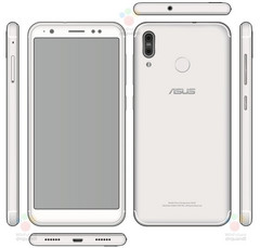 Asus ZenFone 5 X00PD Android smartphone manual images (Source: WinFuture)