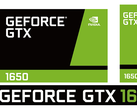 The green team sticks with the familiar design for the Nvidia GeForce GTX 1650. (Source: Twitter/Andreas Schilling)