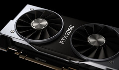 The GeForce RTX 2060 has made a positive impact in its first month in Steam's survey. (Source: Nvidia)