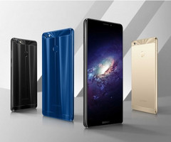 The M7 Power comes with 3 color options: dark blue, black and gold. (Source: Gionee)
